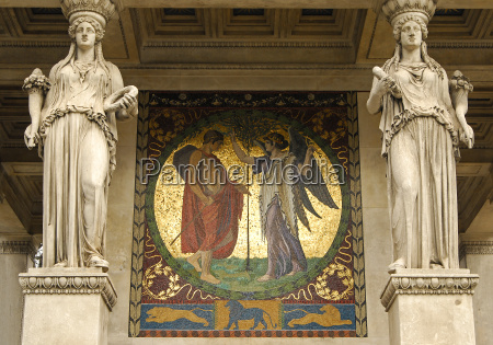 arte antiguo turismo pintura dorado munich