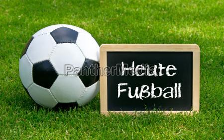 hoy futbol concepto deportes y