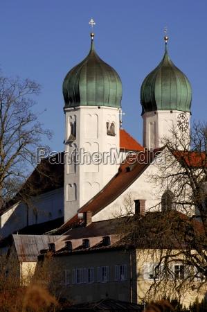 torre iglesia cultura baviera orar monasterio