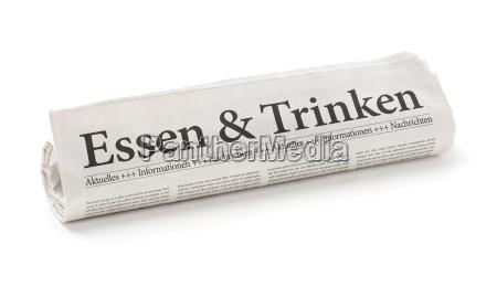diario tageblatt comida beber bebida los