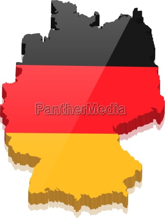 grafico bandera mapa color mapa de