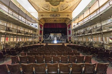 interior view of the teatro tomas