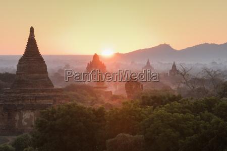 temples of bagan pagan myanmar burma
