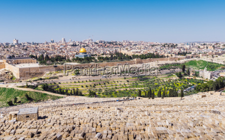 view of jerusalem and the dome