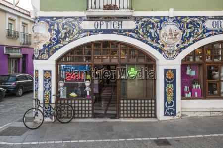 tiled pharmacy in zafra badajoz extremadura