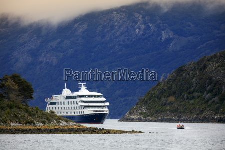 the stella australis cruise ship in